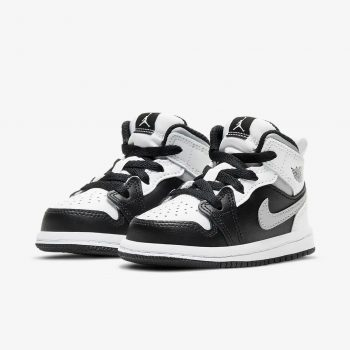 """Now Available: Toddler Air Jordan 1 Mid """"White Shadow"""""""