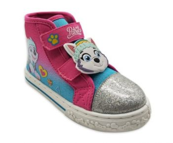 Paw Patrol, Minnie Mouse or Blue's Clues Toddler Girls' High Top Sneakers $8 & More + FS w/ Walmart+ or FS on $35+