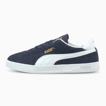 """Puma Club Sneakers """"Navy"""": Sale Price: $22.50 (Retail $65)  – use code:  – BTS25 –  at checkout  – free shipping on orders $50+"""