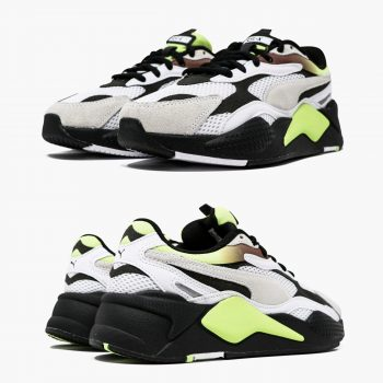 """Puma RS-X3 Neo Fade """"Black Yellow"""" : Sale Price: $58.50 (Retail $110)  – FREE SHIPPING  – use code:  – PARAUG10  – at checkout"""