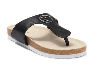 Rampage Little Girl's Metalilic Footbed Thong Sandal $6.50 + Store Pickup at Nordstrom Rack