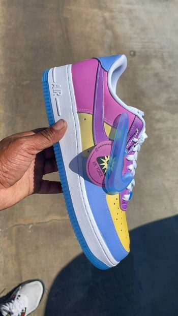 """Restock: Nike Air Force 1 Low (W) """"UV Reflective"""""""