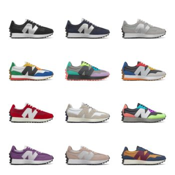 50% OFF + FREE SHIPPING: New Balance 327 Colorways – use code:  – FALL50 –  at checkout
