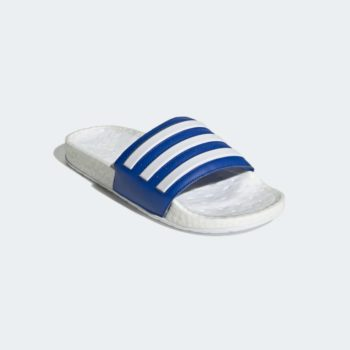 """adidas Adilette Boost Slides """"Royal Blue"""": Sale Price: $38.40 (Retail $60)  – FREE SHIPPING – use code:  – EXTRA20 –  at checkout"""