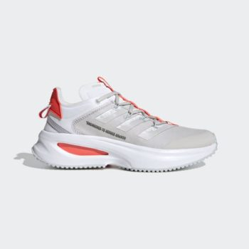 adidas FLUIDFLASH 'Cloud White / Solar Red' $42.00 Free Shipping