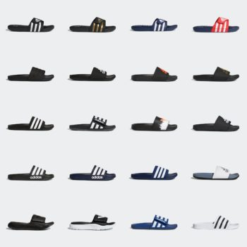 adidas Slides starting at $14 + Free Shipping: use code:  – WEEKEND –  at checkout for extra 30% OFF