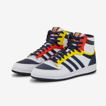 """adidas Top Ten Hi """"Navy Volt"""": Sale Price: $50 (Retail $100)  – FREE SHIPPING – use code:  – ADID50 –  at checkout"""