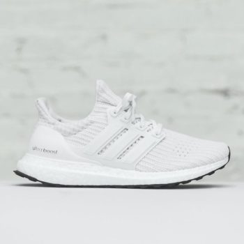 """adidas UltraBOOST 4.0 """"Triple White"""": Sale Price: $135 (Retail $180) – FREE SHIPPING – use code:  – 25OFF –  at checkout"""