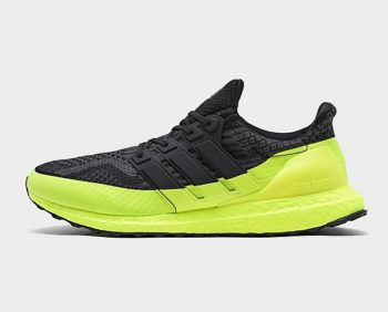 """adidas UltraBOOST 5.0 DNA """"Black Yellow"""": Sale Price: $100 (Retail $180)  – use code:  – 10SHOUTS –  at checkout"""