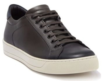 Bruno Magli Men's Westy Leather Low Top Sneaker $56 + Free Store Pickup at Nordstrom Rack