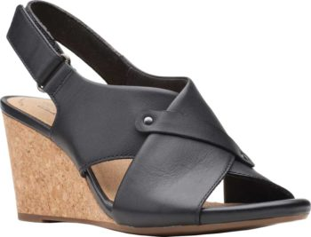 Clarks Margee Eve Wedge Slingback Women's Sandal $33.78 + Free Shipping [Use code 'AB34GRW7' at checkout]