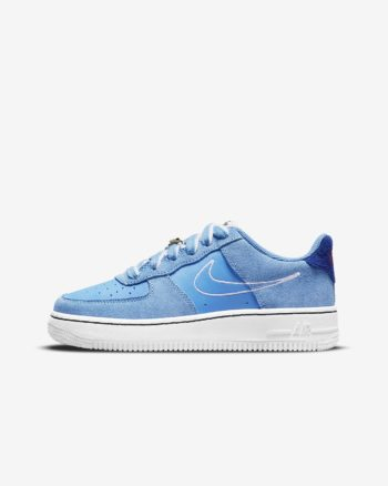 GS Nike Air Force 1 LV8 First Use 'University Blue'