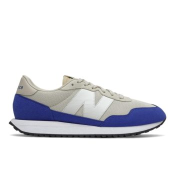 """New Balance 237 """"Grey Blue"""": Sale Price: $39.99 (Retail $80)  – FREE SHIPPING – use code:  – FALL50 –  at checkout"""