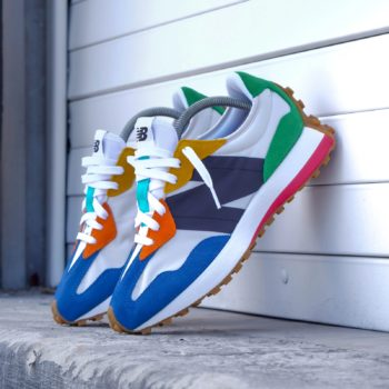 """New Balance 327 """"Multicolor"""": Sale Price: $41.99 (Retail $90)  – use code:  – LCS40 –  at checkout"""