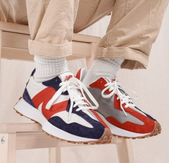 """New Balance 327 """"Red Gum"""" : Sale Price: $49.99 (Retail $90)  – FREE SHIPPING"""