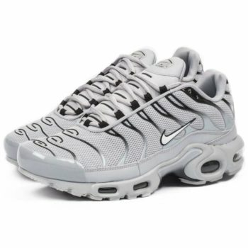 """Nike Air Max Plus """"Wolf Grey"""" : Sale Price: $120 (Retail $160)  – FREE SHIPPING – use code:  – 25OFF –  at checkout"""