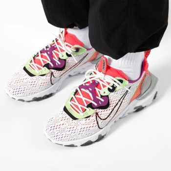 """Nike React Vision Gravity """"Barely Volt"""": Sale Price: $79.99 (Retail $140)  – FREE SHIPPING – use code:  – LDS20 –  at checkout"""