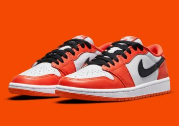 """Now Available: Air Jordan 1 Low OG (W) """"Starfish"""""""
