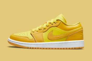 """Now Available: Air Jordan 1 Low (W) """"Yellow Strike"""""""