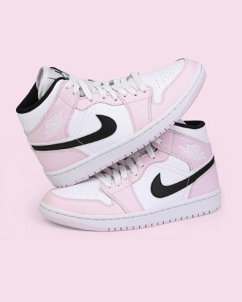 """Now Available: Air Jordan 1 Mid (W) """"Barely Rose"""""""
