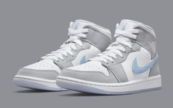 """Now Available: Air Jordan 1 Mid (W) """"Wolf Grey"""""""