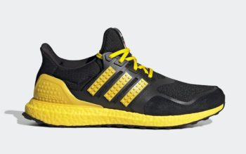 """Now Available: LEGO x adidas UltraBOOST DNA """"Black Yellow"""""""