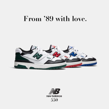 """Now Available: New Balance 550 """"Shifted Sport"""" Pack"""