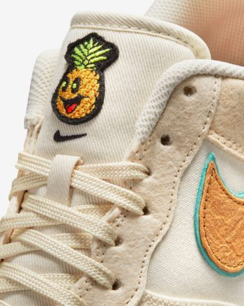 """Now Available: Nike Air Force 1 Low """"Happy Pineapple"""""""