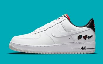"""Now Available: Nike Air Force 1 Low """"Peace, Love, Swoosh"""""""