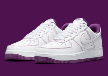 """Now Available: Nike Air Force 1 Low """"Viotech Purple"""""""