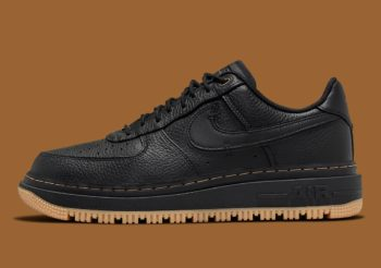 """Now Available: Nike Air Force 1 Luxe """"Black Gum"""""""