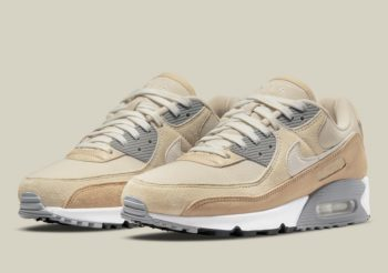 """Now Available: Nike Air Max 90 Premium """"Beige"""""""