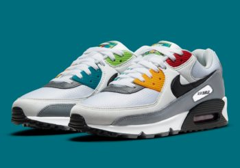 """Now Available: Nike Air Max 90 Premium """"Peace, Love, Swoosh"""""""