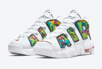 """Now Available: Nike Air More Uptempo """"Peace, Love, Swoosh"""""""