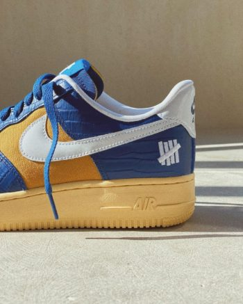 """Now Available: Undefeated x Nike Air Force 1 Low """"Croc"""""""