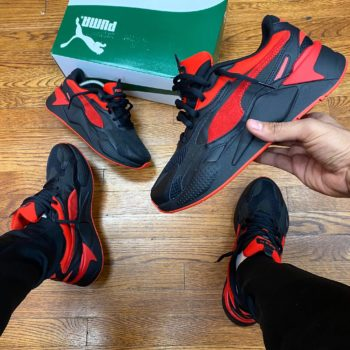 """Puma RS-X3 Prism """"Black Red"""": Sale Price: $51.99 (Retail $110)  – FREE SHIPPING  – use code:  – LDS20  – at checkout"""