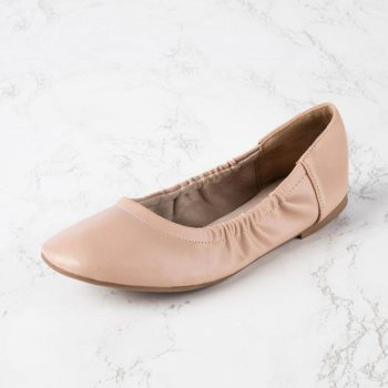 Rose & Remy Women's Ballet Flats Shoes (Nude Pink or Silver) $23.99 + FREE SHIPPING
