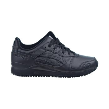"""ASICS Gel Lyte III OG """"Triple Black"""": Sale Price: $88 (Retail $110)  – FREE SHIPPING – use code:  – TEAM20 –  at checkout"""