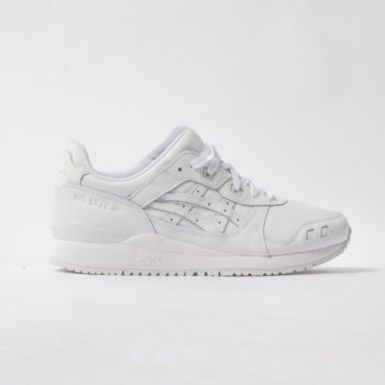 """ASICS Gel Lyte III OG """"Triple White"""": Sale Price: $88 (Retail $110)  – FREE SHIPPING – use code:  – TEAM20 –  at checkout"""
