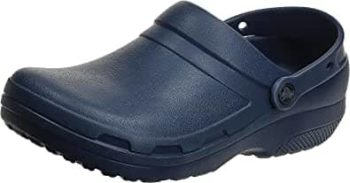 Crocs Unisex Specialist II Work Shoes $20.95 – All Sizes, Navy Blue Only, Prime