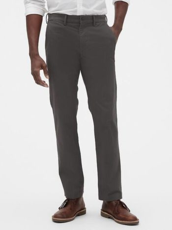 Gap Coupon 50% Off Clearance: Men's GapFlex Essential Khakis Straight Fit Pants $5, Women's Henley Jumpsuit $7.50, More + FS on $50+ [Use code 'GFQUICK' at checkout]