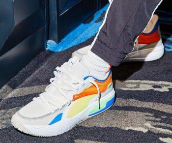 """LaMelo Ball x Puma Court Rider """"Multicolor"""": Sale Price: $27.50 (Retail $100)  – free shipping on orders $29.99+  – use code:  – 50PUMA –  at checkout"""