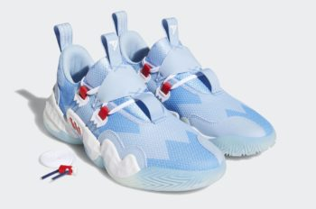 """Now Available: adidas Trae Young 1 """"Ice"""""""