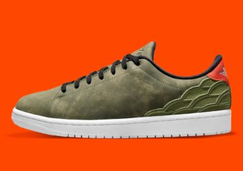 """Now Available: Air Jordan 1 Centra Court """"Olive Green"""""""