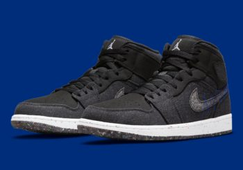 """Now Available: Air Jordan 1 Mid SE """"Crater Foam"""""""