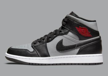 """Now Available: Air Jordan 1 Mid """"Shadow Red"""""""