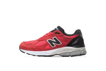 """Now Available: New Balance 990v3 """"Red Black"""""""
