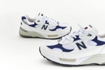 """Now Available: New Balance 992 USA """"White Navy"""""""
