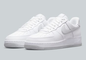 """Now Available: Nike Air Force 1 Low """"Pure Platinum"""""""