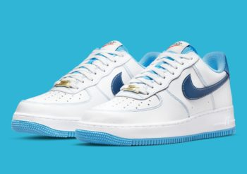 """Now Available: Nike Air Force 1 Low """"University Blue"""""""